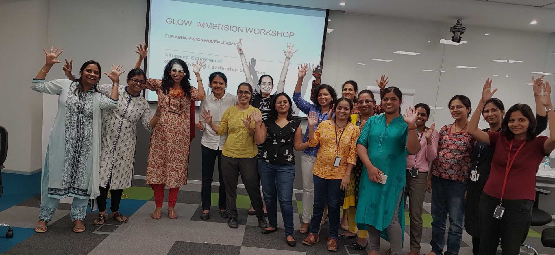 GLOW Immersion session at Eaton Technologies
