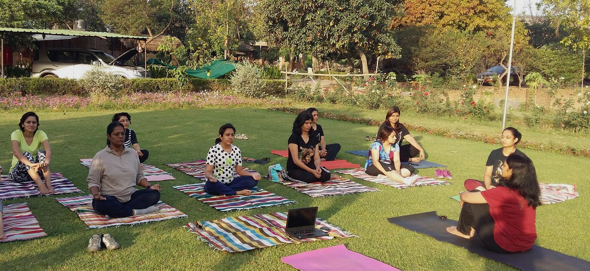 Yoga at the Wholistic Retreat