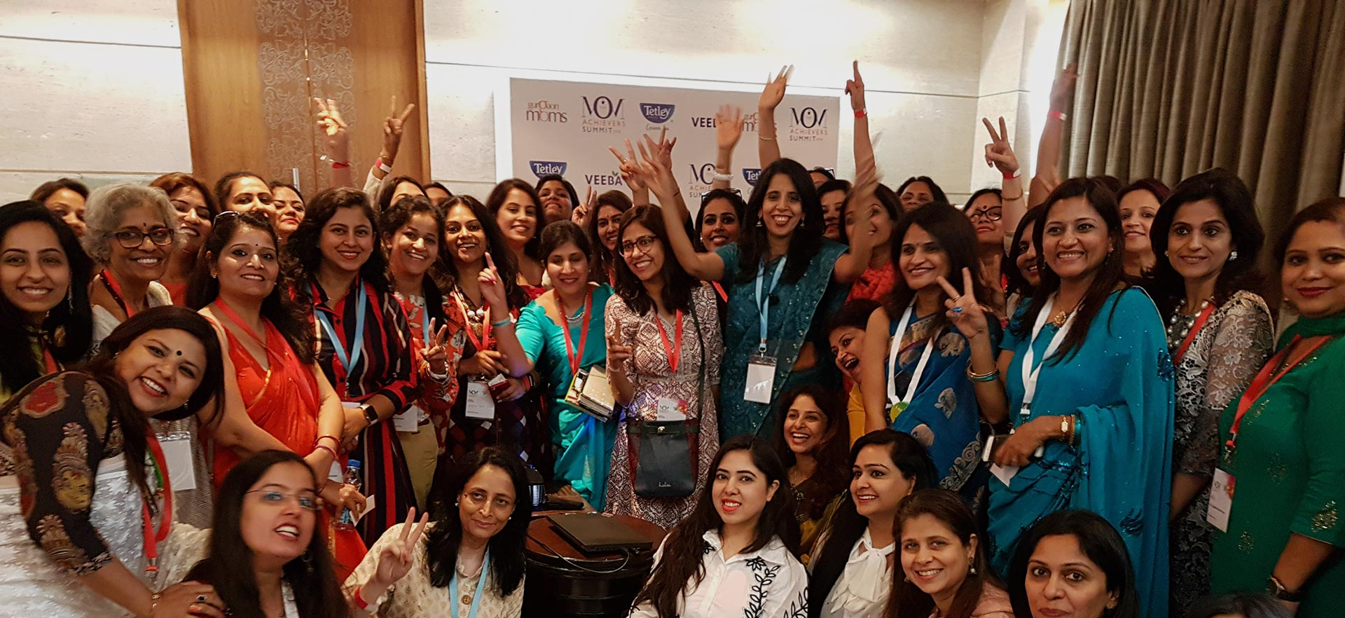 Session on Emotional Resilience at Gurgaon Moms Achievers Summit