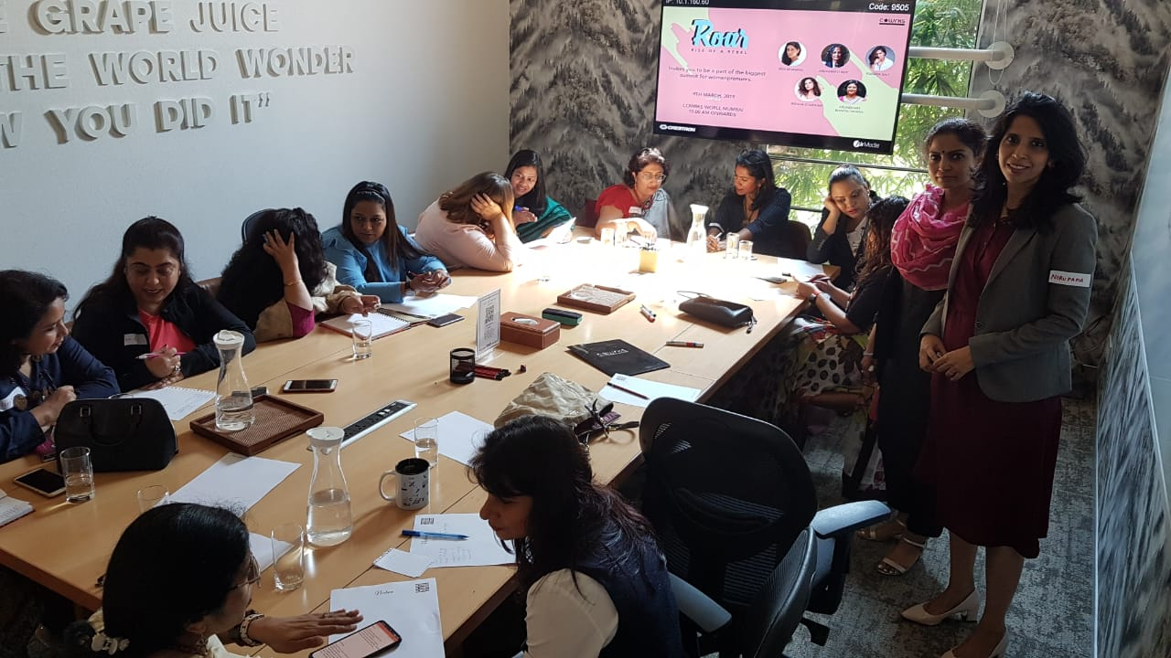 'I Grow, MY business grows ' Entrepreneurs-Gurgaon Moms, March 2019